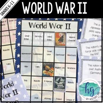 World War II (World War 2) Bingo