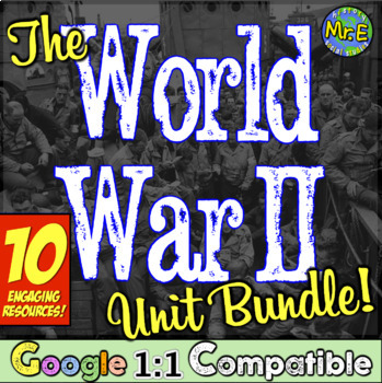 World War 2 Bundle! 5 fun, hands-on, & Common Core focused