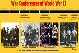 World War II Conferences - by Bill Burton