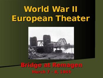 World War II - European Theater - Bridge at Remagen