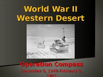 World War II - African Campaign - Operation Compass