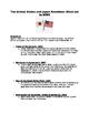 World War II: Eventas that created tenstions between US &