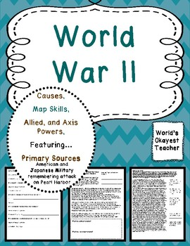 World War II:Featuring Pearl Harbor Primary Sources