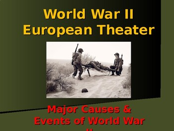 World War II - European Theater - Major Causes & Events