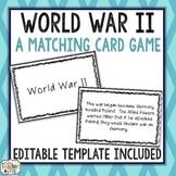 World War II Card Game