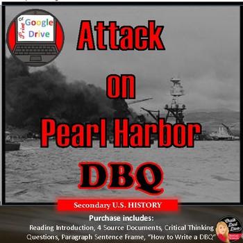 World War II – Mini DBQ: Why Did Japan Attack Pearl Harbor