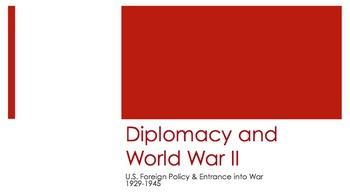 World War II PPT - APUSH New Curriculum Framework - Period 7
