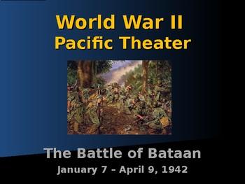 World War II - Pacific Theater - Battle of Bataan