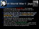 World War II - Pacific Theater - Causes & Events