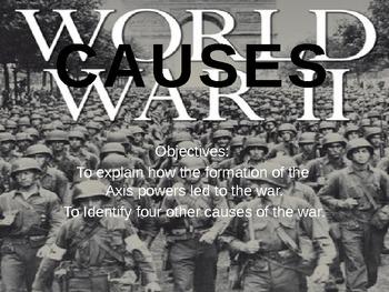 World War II Part 1:Causes