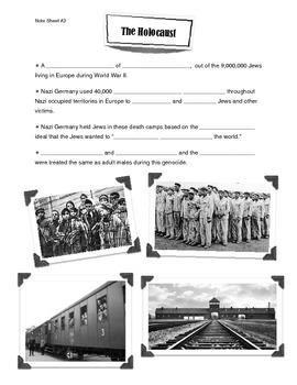 World War II Presentation Note Sheet (3 of 4)