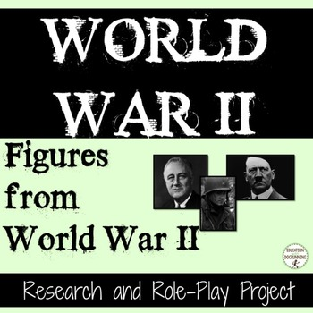 World War II Research and Role Play Project for Figures fr