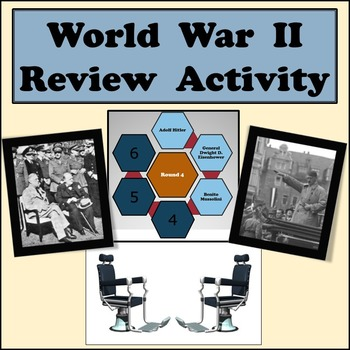 World War II Review Game - Partner Activity in Front of Cl
