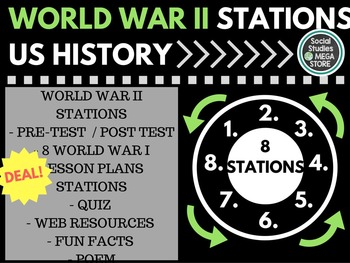 World War II Stations US History