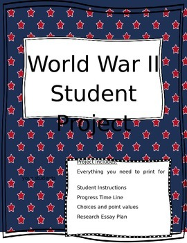 World War II Student Research Project Guide