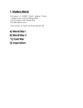 World War II Test A -- for Respondus (World Civilizations II)