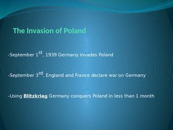 World War II: The War Starts in Europe