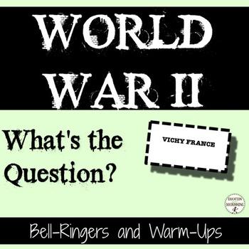 World War II Bell Ringers for World War 2 unit