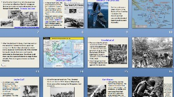 World War II in the Pacific Powerpoint with Hyperlinks and Images