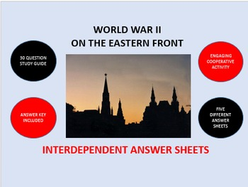 World War II on the Eastern Front: Interdependent Answer S