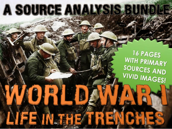 World War One - Life in the Trenches - Source Analysis (Qu