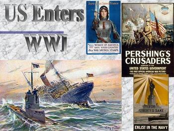 World War: The US Enters the War I