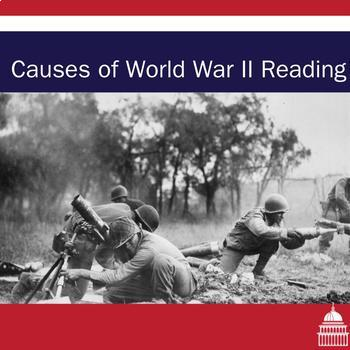 World War Two Causes Handout