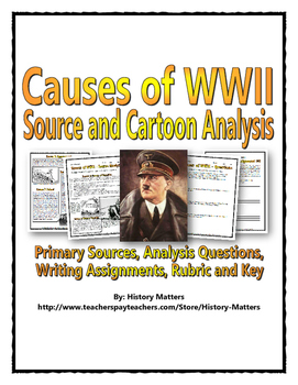 World War Two Causes (Source & Cartoon Analysis / Question