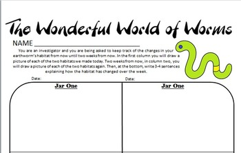 Worms Lesson (science)