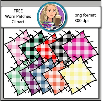 Worn Patches Clipart