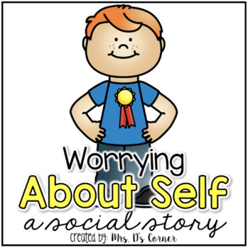 Worry About Self { a Social Story } - Worry About Me