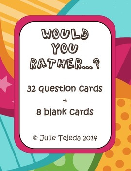 Would You Rather...? 32 Thought-Provoking Questions for Kids!