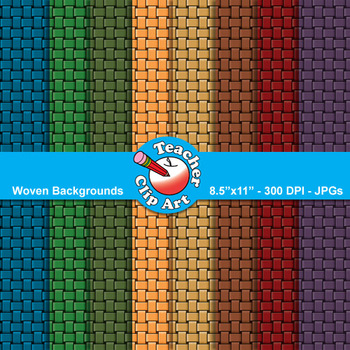 Woven Backgrounds — 9 Backgrounds