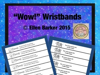 """Wow!"" Wristbands"