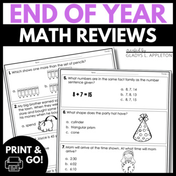 Wrap It Up! End of Year Review and Assessment