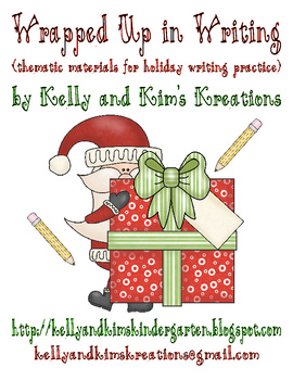 Wrapped Up in Writing (thematic materials for holiday writ