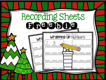 Wrapping Paper Scraps Center Activity Freebie [Literacy &