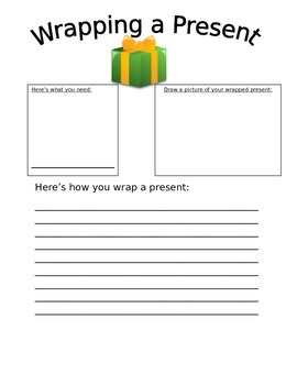 Wrapping a Present Expository Writing