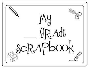 Wrapping up the Year Scrapbook Activity!!