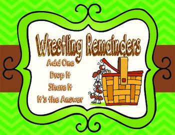 Wrestling Remainders- Interpreting Remainders