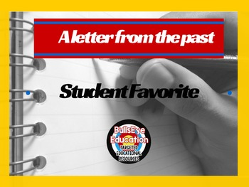 Write A Letter To Yourself: Student Favorite