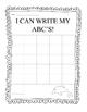 Write ABC's - Sea Theme