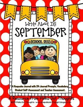 Write About It! September {Daily Keepsake Journal}