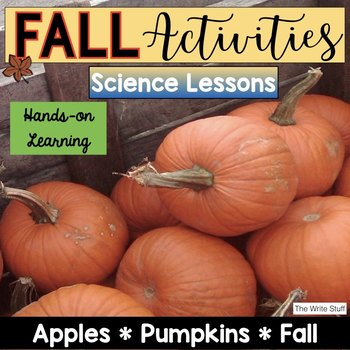 Pumpkins and Apples {Fall Science and Writing}