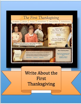 Write About the First Thanksgiving: Grades 3-6