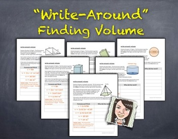 """""""Write-Around"""": Finding Volume ENGAGE ALL STUDENTS!"""