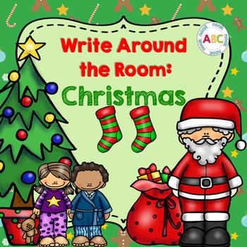Write Around the Room: Christmas
