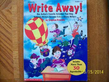 Write Away!  ISBN 0-590-38208-X
