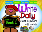 Sentence Writing Prompts Phonics Sight Words 1.1