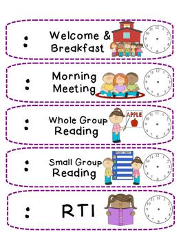Write In Schedule